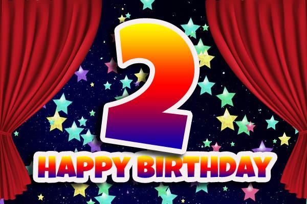 2nd Birthday WhatsApp Wish
