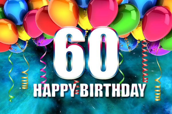 60th Birthday Wish for Man