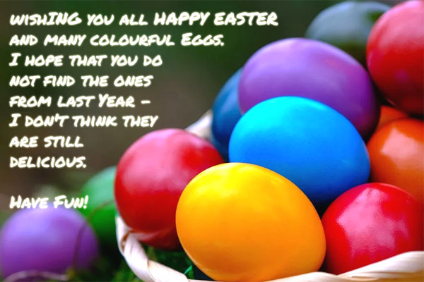Funny Easter Wish Image