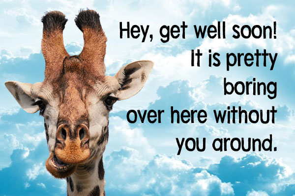 Funny Get Well Soon Message