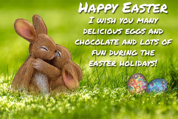 Sweet Easter Wishes for Friends in School
